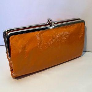 Hobo Lauren Clutch Wallet in Orange